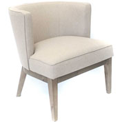Boss Ava Fabric Accent Chair - Beige