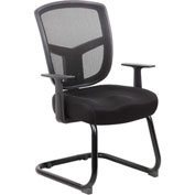 Boss Contract Mesh Guest Chair - Black
