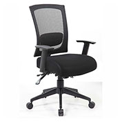 Boss Contract Mesh Back Task Chair, Black