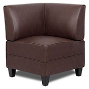 Boss Reception Sectional - Corner Sofa - Leather - Brown