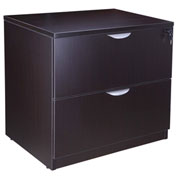 "Boss 2-Drawer Lateral File - 31""W x 22""D - Mocha"
