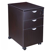 Boss Mobile Pedestal - Box/Box/File - Mocha