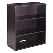 Boss Open Hutch/Bookcase, Mocha