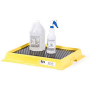 "ENPAC® 5248-YE Poly-Labtray™ - 25-1/2""L x 22""W - 2.5 Gallon Capacity"