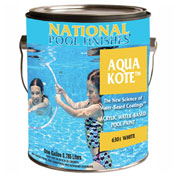 National Aqua Kote™ Acrylic Waterbase Pool Paint, Medium Blue, 5 Gallon, 1/Case - 6302-5G