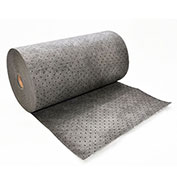"Spilfyter® Streetfyter ® Univeral Dimpled Roll, 32"" x 150', Heavy Weight, Gray, 1/Bag"