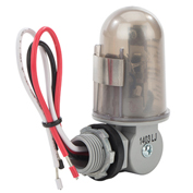 "NSI TORK® 2002 1/2"" Stem & Swivel, On 1-5fc/Off 3-15fc, 6""Leads, 208-277V, 3470-4620W Tungsten"