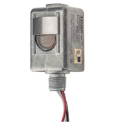 "NSI TORK® 2104 Spec Grade 1/2"" Stem DieCast Zinc, On 1-5fc/Off 3-15fc, 6""Leads, 240V, 2000W Tung"