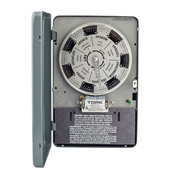 NSI TORK® W222L 7 Day Time Switch with Reserve Power, 40A, 208-277V, DPDT, Indoor Enclosure