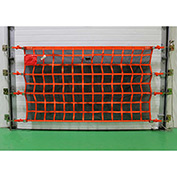 US Netting Loading Dock Door Debris Containment Netting, 4 Feet x 28 Feet, OHDB428