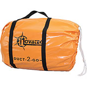 "Novatek Duct-2-Go 10"" x 50' Heavy Duct Vinyl with integrated carrying case"