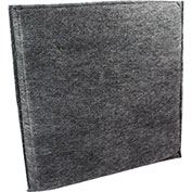 "Novatek Charcoal Filter 1"" thick - Novair 2000 24"" x 24"""