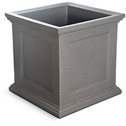 "Fairfield 28"" Square Planter - Sandstone"
