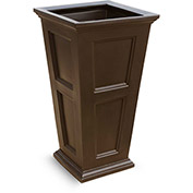 "Fairfield 40"" Tall Planter - Espresso"