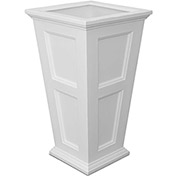 "Fairfield 40"" Tall Planter - White"