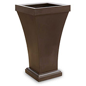 "Bordeaux 40"" Tall Planter - Espresso"