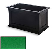 Oxford 20x36 Rectangle Commercial Planter, Spring Green