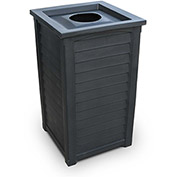 Lakeland 22-1/2 Gallon Commercial Waste Bin, Black - 8871-B