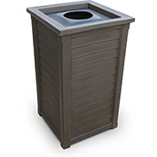 Lakeland 22-1/2 Gallon Commercial Waste Bin, Espresso - 8871-ES