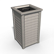 Lakeland 22-1/2 Gallon Commercial Waste Bin, Sandstone - 8871-SG