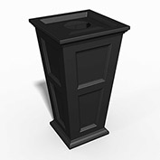 Oxford 24 Gallon Commercial Waste Bin, Black - 8874-B