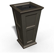 Fairfield 24 Gallon Waste Bin - Espresso - 8874-ES