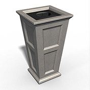Fairfield 24 Gallon Waste Bin - Sandstone - 8874-SG