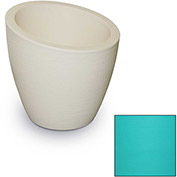 "Modesto 20"" Commercial Planter, Ocean Blue"