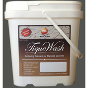 TiqueWash Stamped Concrete Antiquing Colorant Medium Gray, 3 Lb. Tub - TW3LB-102