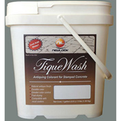 TiqueWash Stamped Concrete Antiquing Colorant Light Gray, 3 Lb. Tub - TW3LB-103