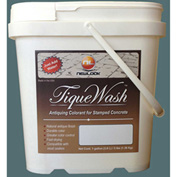 TiqueWash Stamped Concrete Antiquing Colorant Arctic Chill, 3 Lb. Tub - TW3LB-104