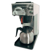 "Newco 101767 - AK-TC Coffee Brewer, Pour Over, Thermal Carafe, 120V, 8-1/2""W x 17-3/4""D x 17-5/8""H"