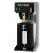 "Newco 101893 - FC-LD Coffee Brewer, Plumbed, W/Flow Washer, 120V, 8-1/2""W x 16-3/8""D x 21-1/4""H"