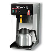 "Newco 101894 - FC-S Coffee Brewer, Plumbed, W/Flow Washer, 120V, 8-1/2""W x 16-3/8""D x 17-5/8""H"