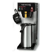 "Newco 110090 - FC-AP Coffee Brewer, Plumbed, W/Flow Washer, 120V, 8-1/2""W x 16-3/8""D x 23-7/8""H"