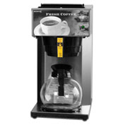 "Newco 110097 - AK-1 Coffee Brewer, Pour Over, 1 Warmer, 120V, 8-1/2""W x 16-3/8""D x 16-7/8""H"