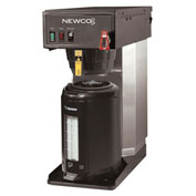 "Newco 120730 - FC-TS Coffee Brewer, Plumbed, Telescope, 120V, 8-1/2""W x 16-3/8""D x 18-3/4"" -26-1/2""H"