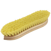"O-Cedar Commercial 9"" Pointed Scrub Brush, Polypro 12/Case - 20421 - Pkg Qty 12"