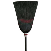O-Cedar Commercial Parlor 100% Black Corn Broom 6/Case - 6102-6 - Pkg Qty 6