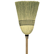 O-Cedar Commercial Parlor 100% Corn Broom 6/Case - 6105-6 - Pkg Qty 6