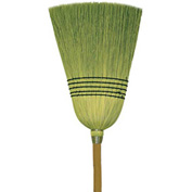 O-Cedar Commercial Janitor 100% Corn Broom 6/Case - 6107-6 - Pkg Qty 6