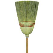 O-Cedar Commercial Janitor Corn Broom 6/Case - 6112-6 - Pkg Qty 6