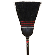 O-Cedar Commercial Warehouse Black Corn Broom 6/Case - 6119-6 - Pkg Qty 6