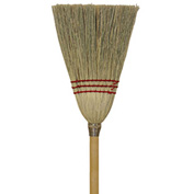 O-Cedar Commercial Lobby 100% Corn Broom 6/Case - 6200-6 - Pkg Qty 6