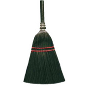 O-Cedar Commercial MaxiRough® Lobby Plastic Broom, Black 6/Case - 6210-6 - Pkg Qty 6