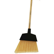 "O-Cedar Commercial MaxiClean Large Angle Broom, 48"" Wood Handle 12/Case - 6400-W - Pkg Qty 12"