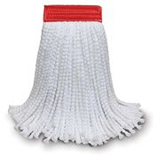 "O-Cedar Commercial #24 MaxiPlus® Microfiber Cut-End Mop 5"" Band, 12/Case - 93202 - Pkg Qty 12"