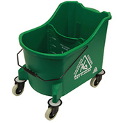O-Cedar Commercial 36 Qt. MaxiPlus® Mop Bucket, Green 1/Case - 971