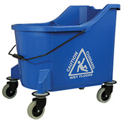 O-Cedar Commercial 36 Qt. MaxiPlus® Mop Bucket, Blue 1/Case - 972