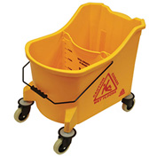 O-Cedar Commercial 36 Qt. MaxiPlus® Mop Bucket, Yellow 1/Case - 978